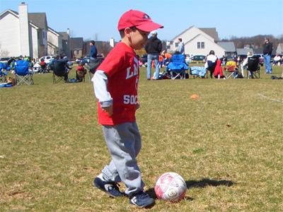 Jayden's Soccer Game
